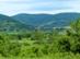 Visszatekintés Bódvaszilasra a Rákóczi-barlang kapujától