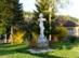 Tornabarakony - Görög katolikus kereszt a falu főutcáján
