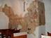 Rakacaszend - A református templom falán feltárt freskók