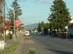 Encs főutcája - A zempléni hegyek adják itt is a hátteret