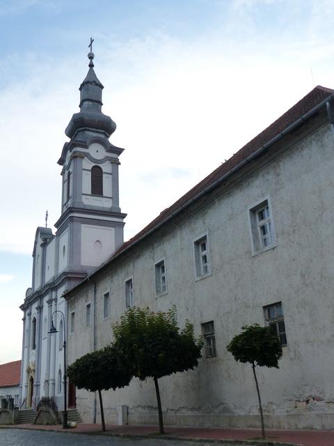 Dunaföldvár - Ferences templom és rendház