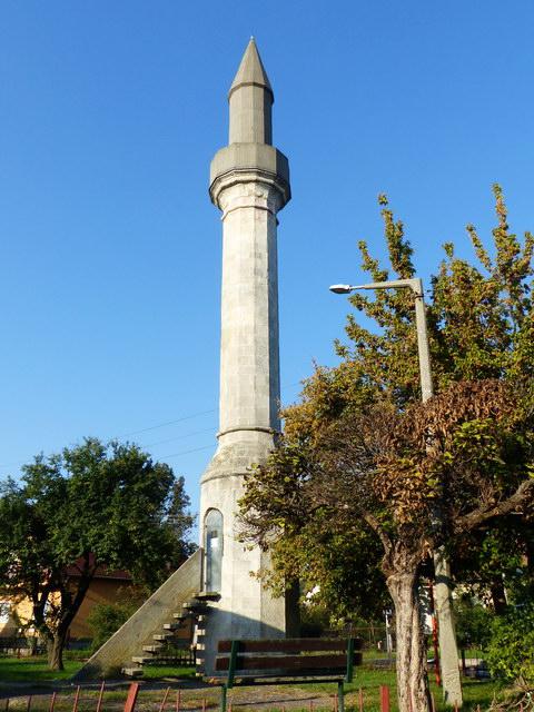 Útba ejtettem az Érd ófalujában álló minaretet is