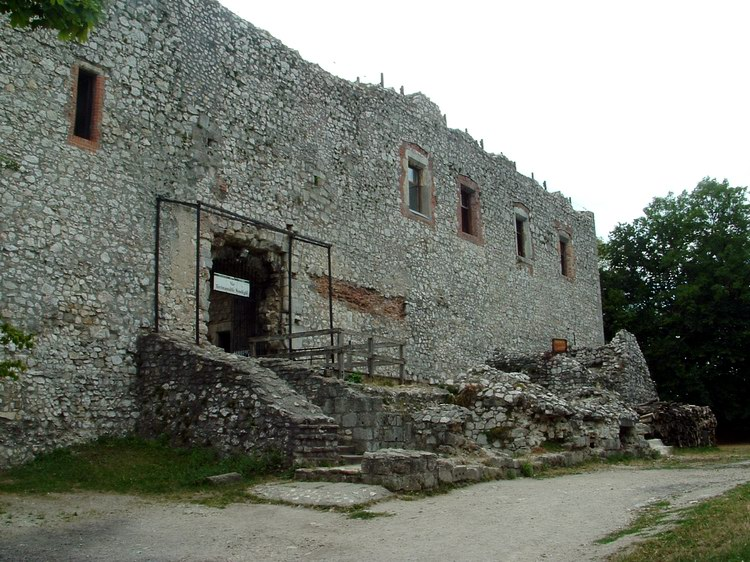 The old Castle of Várgesztes