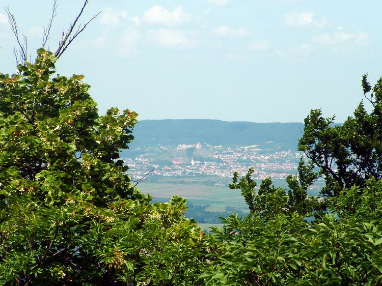 We can see Castle of Sümeg in the distance