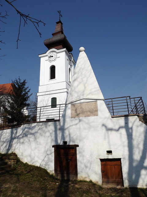 The bell tower with the lookout terrace