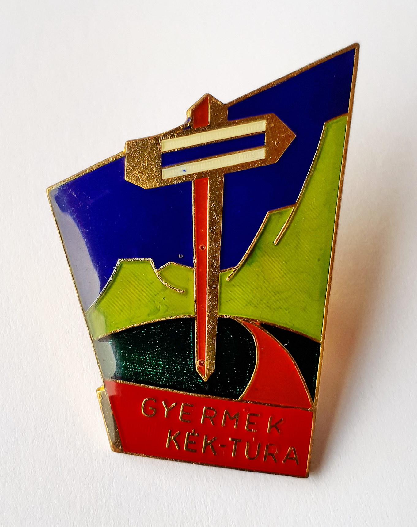 The Children Blue Trail badge