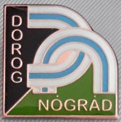The badge of hiker movement named from Dorog until Nógrád