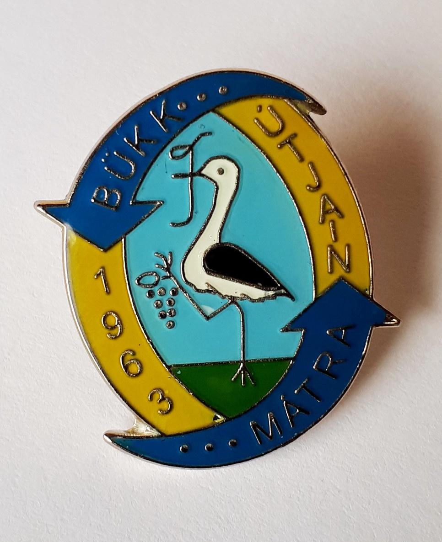 The badge of hiker movement named Mátra-Bükk útjain